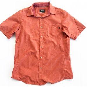Marmot Mens Shirt Aerobora Short Sleeve